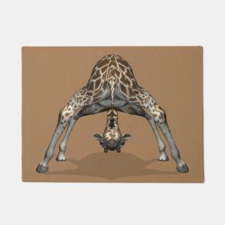 Paillasson Girafe puérile drôle