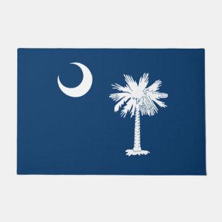 Paillasson Graphique dynamique de drapeau d'état de la