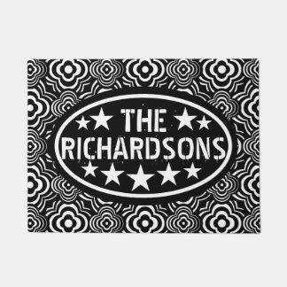 Paillasson Marchand ambulant noir vintage personnalisé