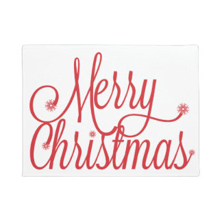 Paillasson Natte de Joyeux Noël