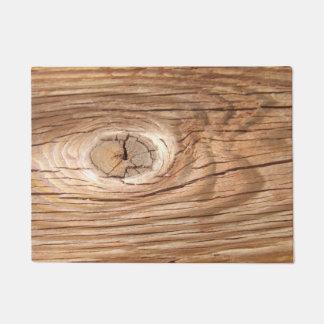 Paillasson Natte en bois de trou de grain