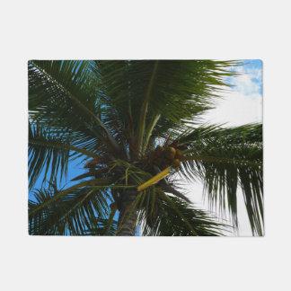 Paillasson Recherche à la nature tropicale de palmier de noix