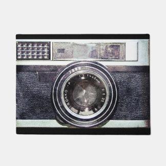 Paillasson Vieil appareil-photo noir