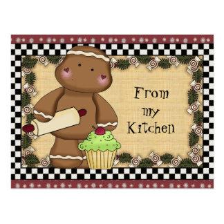 Pain d'épice de ma carte postale de cuisine
