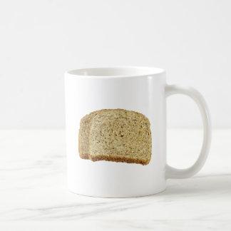 Pain grillé sec mug blanc