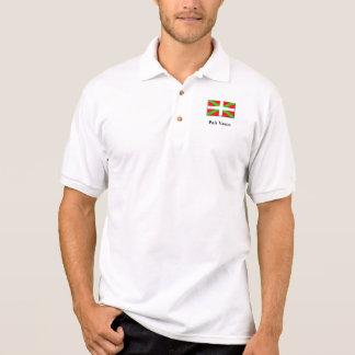 Pais Vasco - het Overhemd van het Polo van Spanje