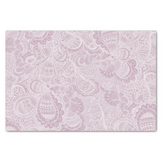 Paisley rose papier mousseline