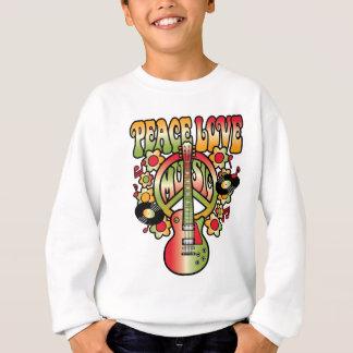Paix-Amour-Musique Sweatshirt
