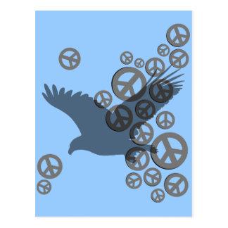 paix d'aigle carte postale