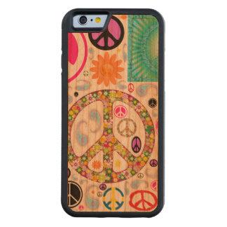Paix et collage de Paisley Coque Pare-chocs En Cerisier iPhone 6