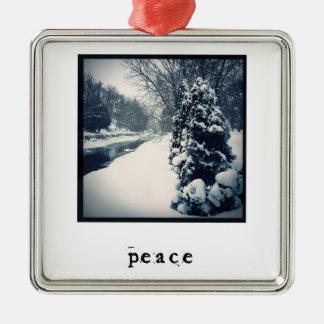 Paix - ornement de Noël