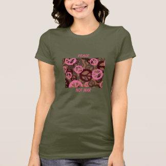 PAIX, PAS T-shirt de GUERRE