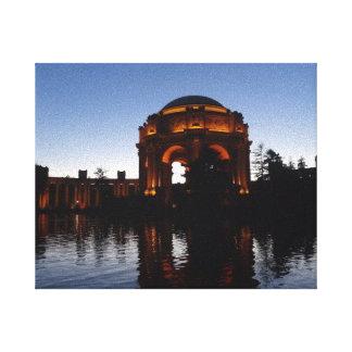 Palais de San Francisco de toile de beaux-arts