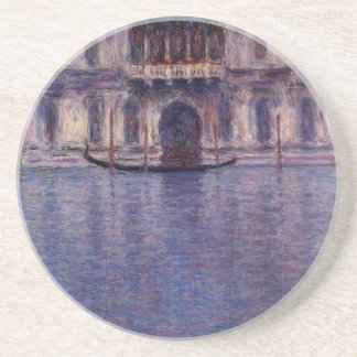 Palazzo Contarini 2 par Claude Monet Dessous De Verre
