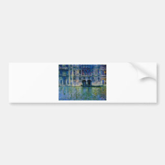 Palazzo DA Mula à Venise par Claude Monet Autocollant De Voiture