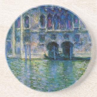 Palazzo DA Mula à Venise par Claude Monet Dessous De Verre