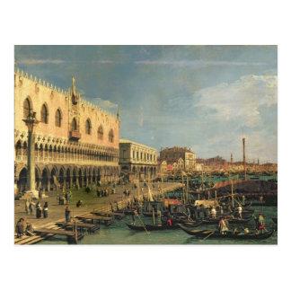 Palazzo Ducale et le degli Schiavoni, Venic de Carte Postale