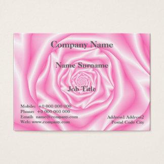 Pâle - carte rose de spirale rose