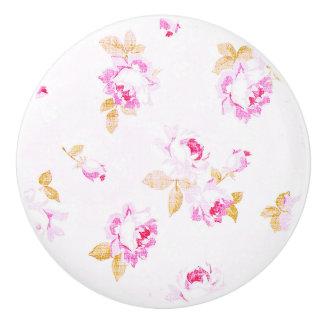 Pâle chic minable - traction/bouton de meubles de bouton de porte en céramique