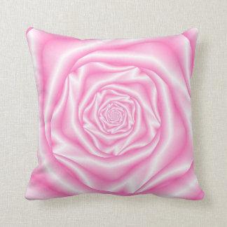 Pâle - coussins roses de spirale rose