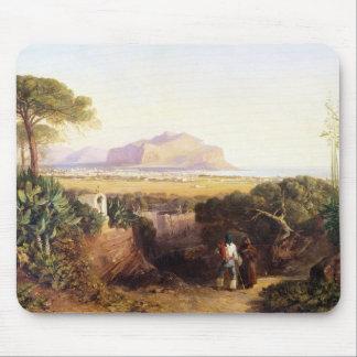 Palerme, Sicile, 1847 (huile sur la toile) Tapis De Souris