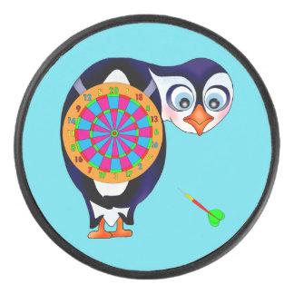 Palet De Hockey Pingouin de dard par Happy Juul Company