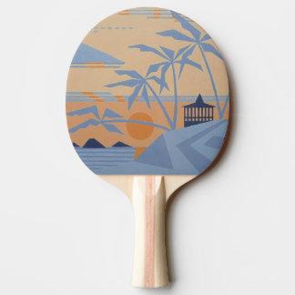 Palette CHAUDE de ping-pong de TROPIQUES Raquette De Ping Pong