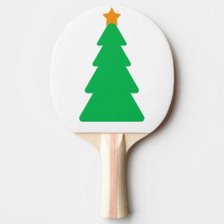 Palette d'arbre de Noël Raquette De Ping Pong