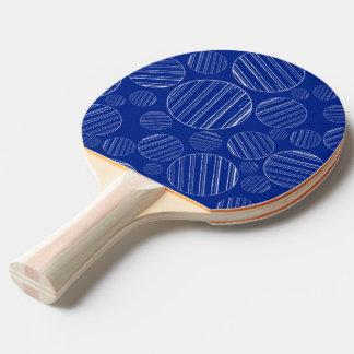 Palette de ping-pong avec l'art unique raquette de ping pong