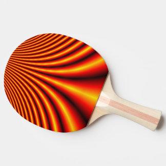 Palette de ping-pong, illusion optique raquette tennis de table