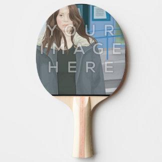 Palette de ping-pong personnalisée par photo raquette tennis de table