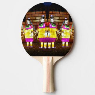 Palette de Samauri de lanterne japonaise Raquette De Ping Pong