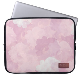 Pâlissez - la douille rose d'ordinateur portable trousse pour ordinateur portable