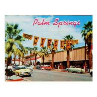 Palm Springs, la Californie - carte postale