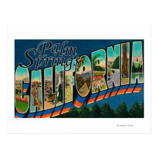 Palm Springs, la Californie - grandes scènes de Cartes Postales
