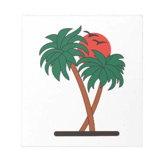 Palmen Notitieblok