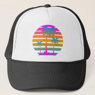Palmen van de Zonsondergang van de jaren '80 van Trucker Pet