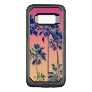 Palmiers tropicaux Girly Coque Samsung Galaxy S8 Par OtterBox Commuter