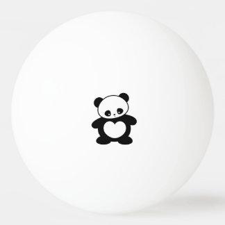 Panda de Kawaii Balle De Ping Pong