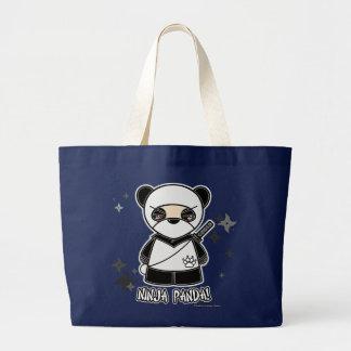 Panda de Ninja ! Avec le sac de Shurikens
