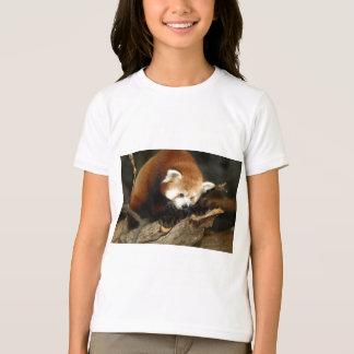 Panda rouge t-shirt