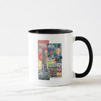 Panneau comique de Superman - les origines de Mug