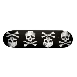 Panneau de crâne skateboard old school  21,6 cm