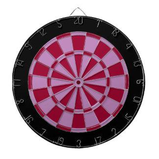 Panneau de dard : Lavande, rouge foncé, et noir Jeux De Fléchettes