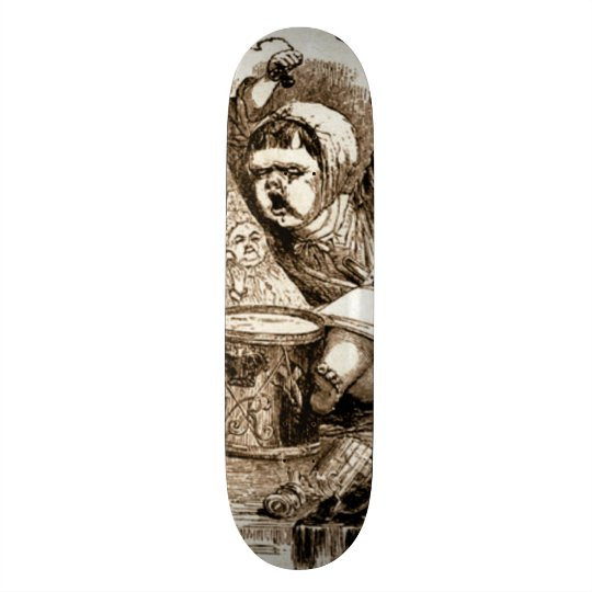 Panneau fait sur commande de saucisse de mauvais skateboard 20,6 cm