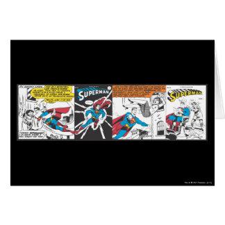 Panneaux comiques de Superman Carte