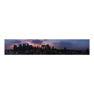 Panorama de New York City