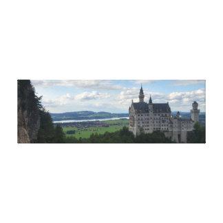Panorama de toile de Schloss Neuschwanstein