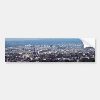 Panorama de Vienne Autriche Autocollant De Voiture