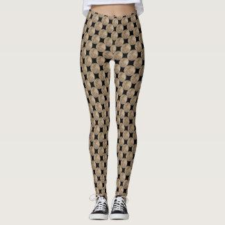 Pantalon frais de Legging de lune de guêtres de